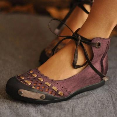 Flat Sandal Women Summer Lace Up Sandals Female Casual Shoes