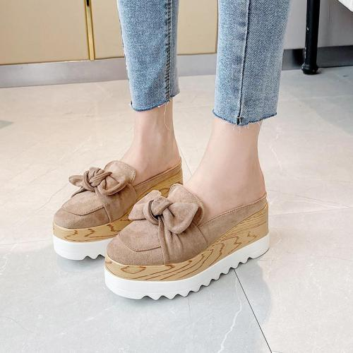 Women's Shoes Wedges Slippers Heel Shoes Platform Wedges Heel Casual Female