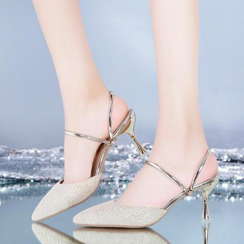 Fashion Women Sandals Summer High Heels