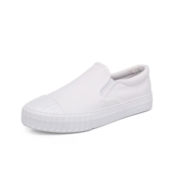 Versatile Basic Canvas Shoes Women's Summer 2020 New Shoes Flats