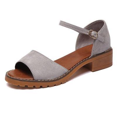 Summer Women Shoes Low Heels Ladies Sandals Peep-toe Fashion Women Sandals Woman Summer Shoes