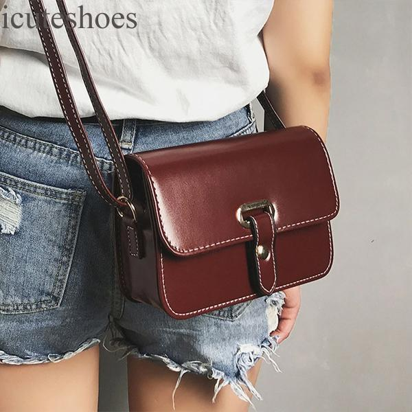 Girls Women Shoulder Bag Retro Female Simple Bag Crossbody Shoulder Bag Handbag Bag