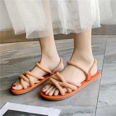 Open Toe Flat Summer New Cool Women's Sandals Casual Slippers