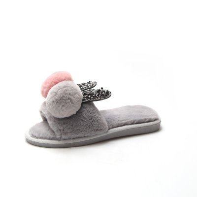 Soft Flats Women's Shoes Cotton Slippers Women's Home