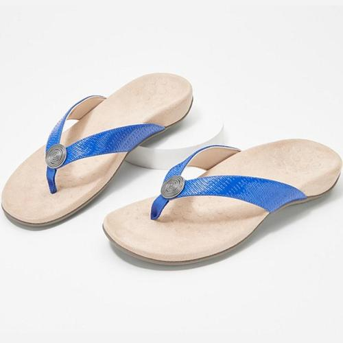 Women Slippers Female Metal Decoration Flat Woman Comfort Slides Women's Casual Summer Beach Shoes