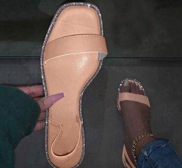 Printing Bright Sandals Women Outdoor Flip Flop Fashion Flat Beach Slippers