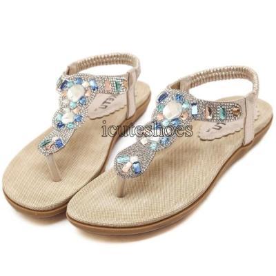 Women's Sandals Fashion Ladies Shoes Summer Beach Shoes Female Flat Sandals