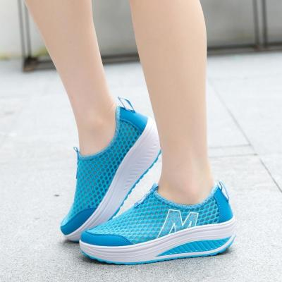 Women's Shoes Casual Breathable Sport Fashion Shoes Walking Flats Height Increasing Women Loafers