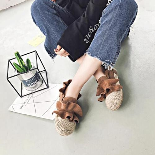 Flat Shoes Woman Casual Loafers Women Shoes Slip on Round toe