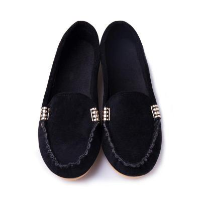 Summer Woman Flats New Fashion Pure Color Wild Concise Flat Casual Women Shoes Comfortable Female Loafers Shoes