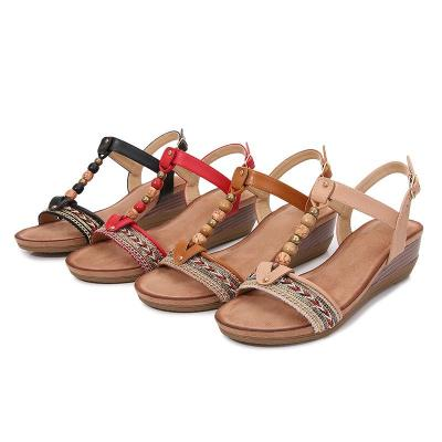 Shoes Women 2020 Women's Summer Sandals Roman Sandals Vintage Bohemian Sandals