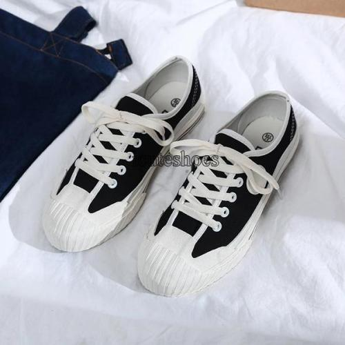 2020 Canvas Shoes Women's Flat Shoes Casual Lady Single Shoes