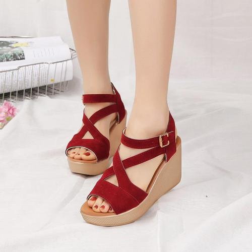 Summer New Women's Sandals Slope Heel Women's Shoes Fashion Sandals Wedges