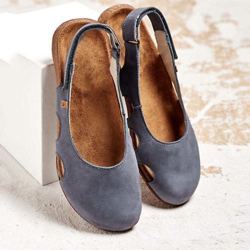 Women's Hollow Out Flat Cozy Sandals