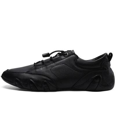 Man's Shoes Fashion Leather Shoe Men Flats Suede Leather Clax Male Sneakers Casual Footwear