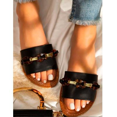Fashion Women Shoes Outdoor Beach High Quality Flat Bottom Women Sandals Casual Comfortable Sandals