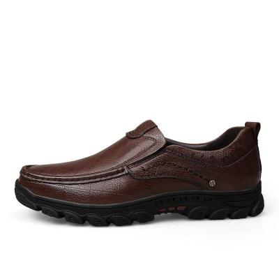 Man Leather Shoes Slipons Spring Summer Male Loafers Genuine Leather Clax Men's Shoe Walking Footwear Brand