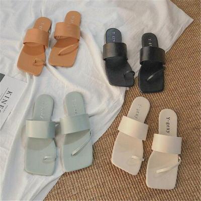 Slip On Flat Slides Summer Sandals Beach Slipper Shoes Women