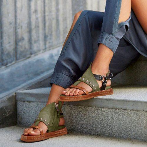Shoes Woman Sandals Flat Casual Summer Sandals Women's Fashion Rome Flip Flops Wedges Sandals