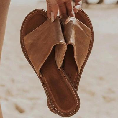 Slipper New Fashion Beach Female Flip Slip Rome Flat Slides Ladies Sandals Shoes