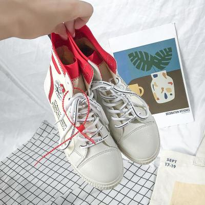 2020 Ins Style Canvas Trend Shoes Chic Leisure Flats for Women
