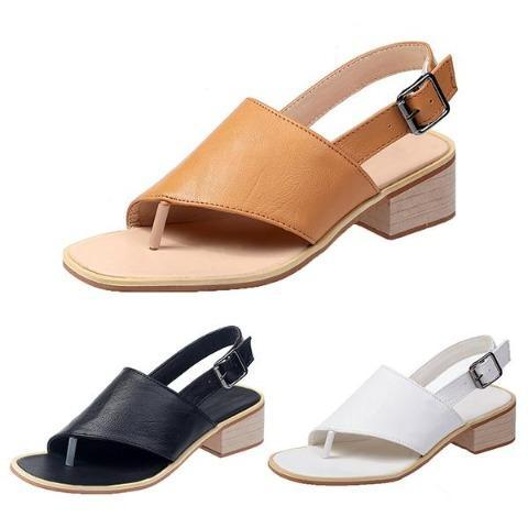 Buckle Casual Comfy Sandals