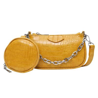 Fashion Pattern Small PU Leather Shoulder Bags for Women Handbags Female Round Bags Travel Crossbody Bag