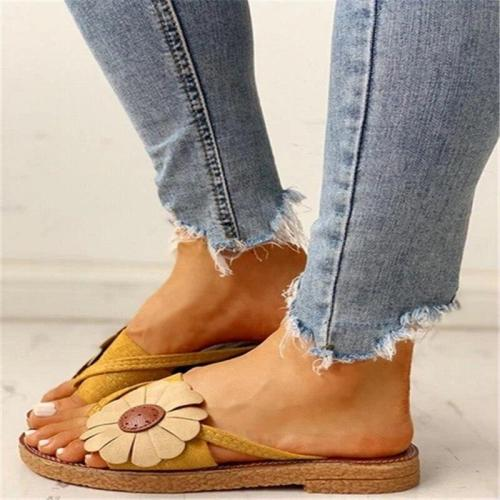Women's Flower Sandals Summer Flip Flops Slippers Women Beach Flip Flops Female Ladies Woman Sandals