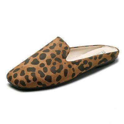 Slippers For Women Shoes Non-slip Floor Slippers Fashion Leopard