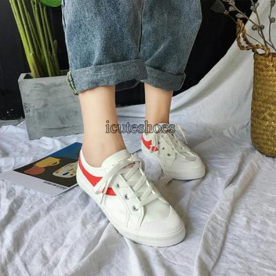 2020 Summer Trend New Small White Shoes Retro Flat Shoes Sports Shoes