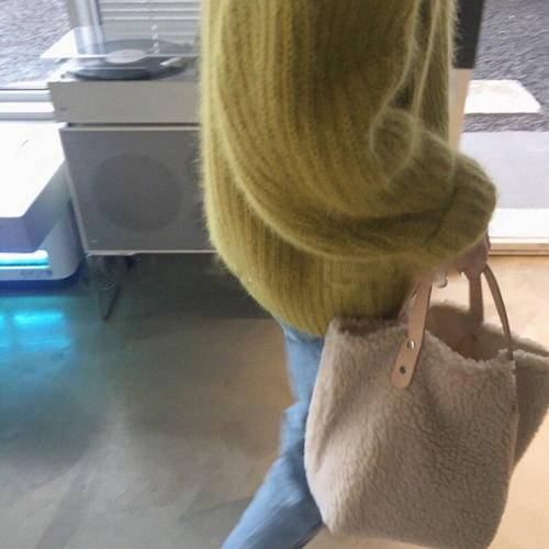 Handbag Large Capacity Winter New Soft Wool Plush Woman Bags Ladies Totes Shopping Bag Bolsa Feminine