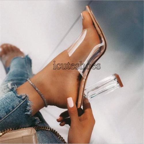 Sandals Open Toed Sexy Thin Heels Women Heel Sandals Slippers
