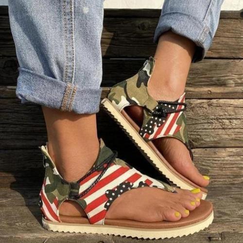 Woman Sandals Women Rome Casual Flip Flops Shoes Woman Non-slip Flats Female