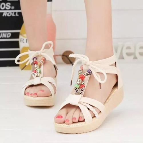 Sandals Women 2020 Summer New Beach Shoes Bohemian Women's Shoes Women's Sandals