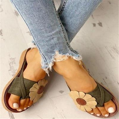 Women's Flower Sandals Summer Flip Flops Slippers Women Beach Flip Flops Female Ladies Woman Sandals