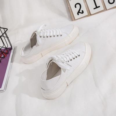 2020 New Women's Shoes Leisure Canvas Shoes Flat Color Shoes Ins Shoes
