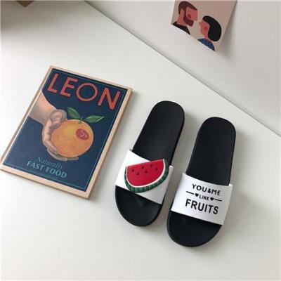 Women's Fruit Slippers Summer Beach Flat Sandals Female Slippers Ladies Fashion