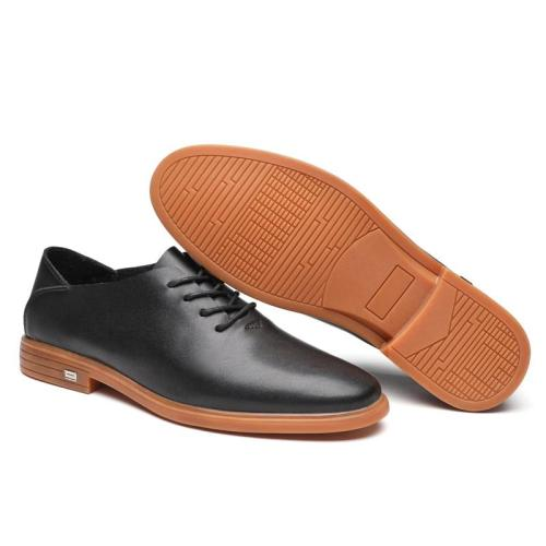 Man Leather Shoes Black Leisure Footwear Summer Autumn Men's Oxfords Dress Shoe New Arrivals