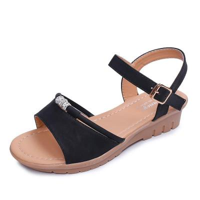 Slope Heel Women's Shoes In Summer New Sandals Women Fashion Sandals