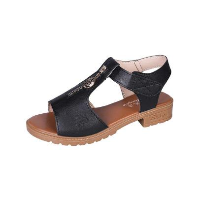 Hot Sale Leisure Sandals Women Shoes Fashion Gladiator Walking Rome Zipper Vacation Beach Sandals Women Summer Shoes
