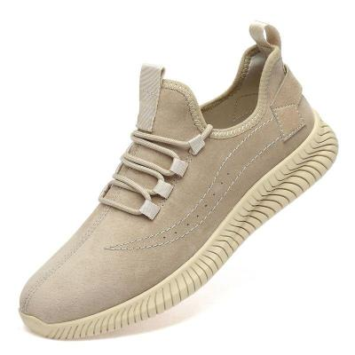 Man Shoes Suede Leather Sneakers Summer Autumn Men's Casual Shoe Fashion Walking Footwear Leisure Breathable