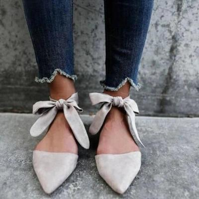Handmade Women Sandals Pear Ankle Strap Beaded Special Open Toe Flat Shoes Casual Beach Sandals