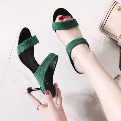 Fashion Sexy Women's Shoes Summer New Women's Sandals Slippers High Heels