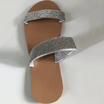 Serpentine Block Heel Flip Flop Slip-On Beach Leopard Slippers