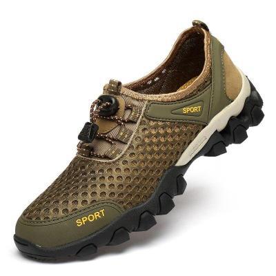 Men Mesh Shoe Breathable Summer Man's Shoes Casual Walking Footwear Outdoor Sneakers Fashion