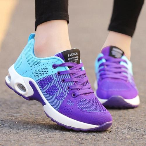 Platform Sneakers Shoes Breathable Casual Shoes Woman Fashion Height Increasing Ladies Shoes