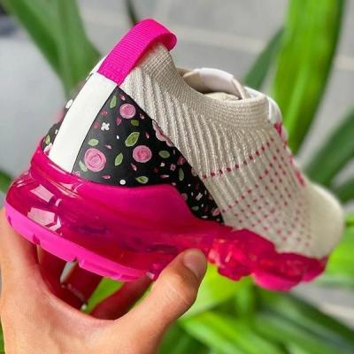 Women Sneakers Summer Outdoor Sports Shoes Multicolor Leisure Comfortable Lace Up Plus Size Casual Shoes