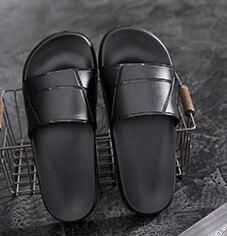 Flat Comfortable and Casual Beach Shoes Women's Non-slip Soft Bottom Home Slippers Bathroom Slippers