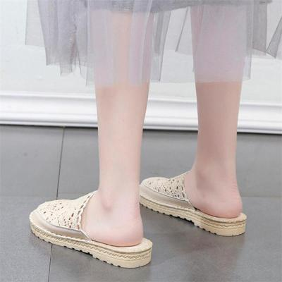 Summer Slippers Shoes Woman Casual Slip on Flats Female Slides Flat Platform