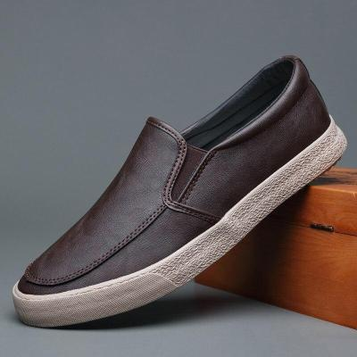2020 New Casual Vulcanized Shoes Autumn Fashion Soft Bottom Low-Top  Loafer Shoes Youth Trend Flat Shoe